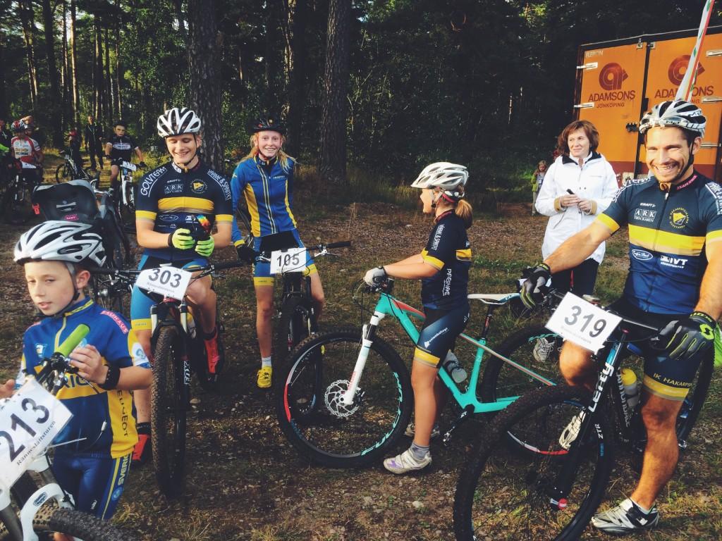 IKHP-ungdomar på träningstävling i Eksjö